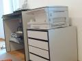 Büromöbel mit Schreibtisch herausziehbar