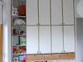 Kinderzimmerschrank Multiplex weiß und grün