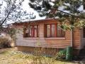 Gartenhaus mit Holzverkleidung aus Lärche