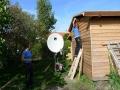 Holzverkleidung Gartenhaus