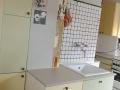 Küche 50er-Jahre-Stil