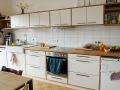 Küche Eiche und OSBCombiline weiß