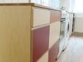 Küche-Multiplex-natur,-rot-und-braun-Eichenarbeitsplatte