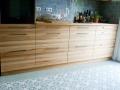 Küche aus Kernbuchenholz