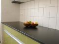 Küchenarbeitsplatte aus HPL matt schwarz